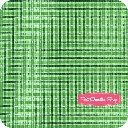BOY -Tractor Time Green Plaid